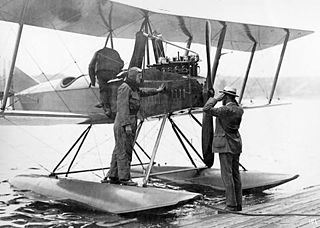 Boeing Model 2 training floatplane family by Boeing
