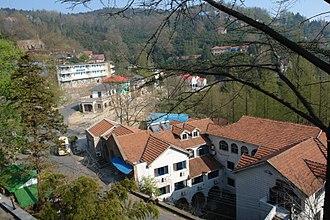 Mount Mogan - Moganshan town centre