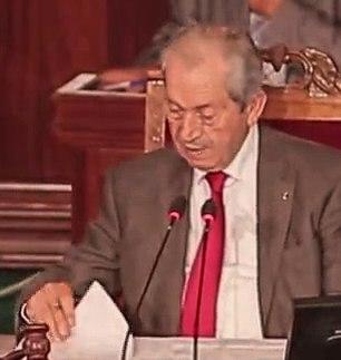 Mohamed Ennaceur - Présidents de l'ARP, Tunisie, capture de Nawaat (cropped)
