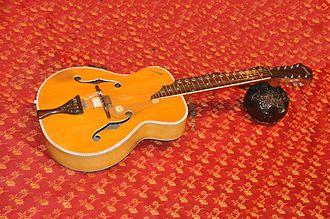 Mohan veena - Vishwa Mohan Bhatt's instrument, a modified Hawaiian guitar.