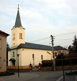 Mokre Lazce kostel 20080308.jpg