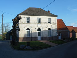 The town hall of Monchiet