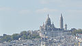 Montmartre as seen from Buttes-Chaumont, Paris 14 April 2014.jpg