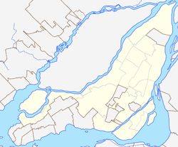 L'Île-Bizard, Quebec is located in Montreal