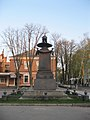 Monument in the rest place of Peter I after the Battle of Poltava 01.jpg