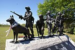 Monument to War Dogs of Vietnam War and Their Handlers.jpg