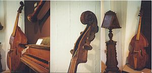 """Violone - More shots of the """"G violone"""" by Ernst Busch"""