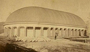 Joseph Standing - Salt Lake Tabernacle, 1870s.