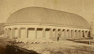 Joseph Standing - Salt Lake Tabernacle, 1870s.