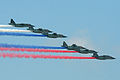 Morning Red Blue White formation, Zhukovsky 2012 (8616574589).jpg