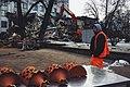 Moscow, demolition of trade pavilions on Vozdvizhenka Street (24906956382).jpg