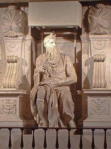 File:Moses (Michaelangelo - San Pietro in Vincoli - Rome).jpg