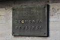 Most Łazienkowski tablica gen. Zygmunta Berlinga 01.JPG
