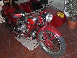 Moto Guzzi - Moto Guzzi, Museum of Brescello.