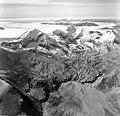 Mount Katmai and Knife Creek Glacier, terminus of valley glacier, August 26, 1969 (GLACIERS 7039).jpg
