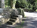 Mounting block outside Kirkton Parish Churchyard - geograph.org.uk - 251817.jpg