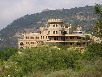 Deir al-Qamar - Moussa Castle