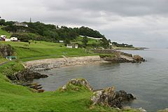 Moville - wybrzeże zatoki Lough Foyle