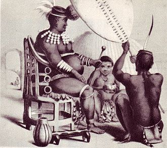 Anglo-Zulu War - King Mpande