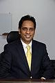 Mr. Madhu Kumar Marasini, Chief, International Economic Cooperation Coordination Division , Ministry of Finance (Joint Secretary) is an Australian Awards Alumni, Kathmandu, Nepal. (10703150404).jpg