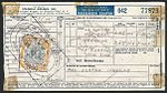 Mrs Bertha Inkelas airline ticket with Bermuda stamp used for revenue purposes.jpg