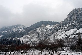 Servia, Greece - Image: Mt.Kamvounia Servia Greece