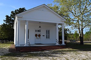 National Register of Historic Places listings in Bladen County, North Carolina - Image: Mt Horeb Presbyterian Church, NC87, National Historic Property, photo 5