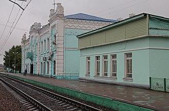 Mtsensk - Mtsensk railway station