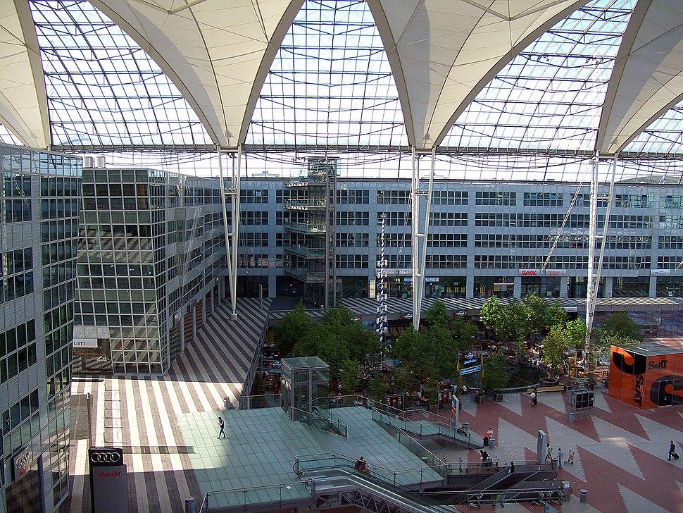 Munich airport central