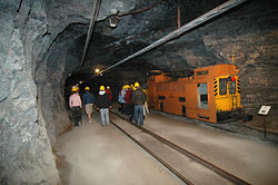 Inside the National Mining Museum
