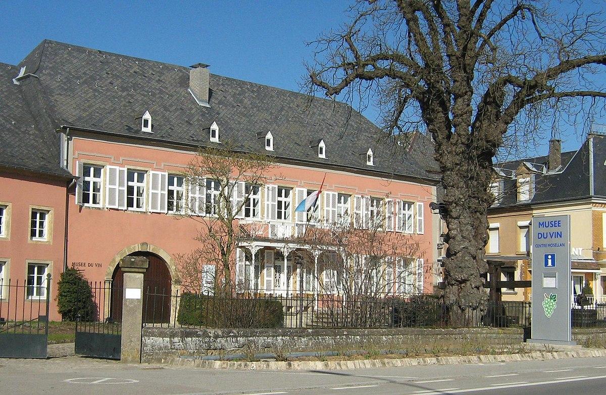 Resultado de imagen de Luxemburgo museo del vino ehnen