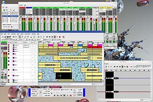 MusE - Image: Mus E screenshot