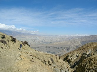 Mustang District - Mustang has a semi-arid climate