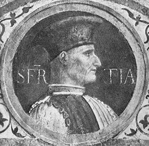 Sforza, Jacopo, Attendula (1369-1424)