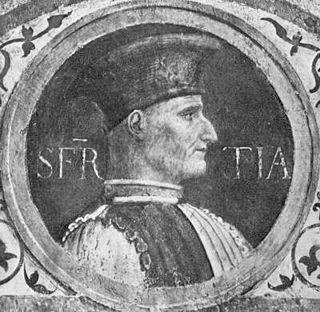 Muzio Attendolo Sforza Italian condottiero