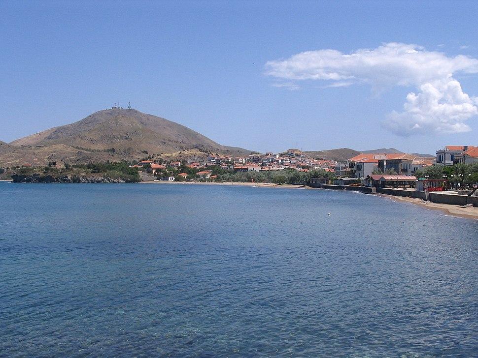 Myrina beach, Lemnos