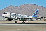 N204FR Frontier Airlines 2004 Airbus A320-214 - cn 2325 - McCarran International Airport, Las Vegas (11241268814).jpg