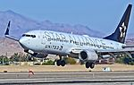 N26210 Star Alliance (United Airlines) 1998 Boeing 737-824 C-N 28770 (10664760963).jpg