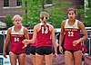 NCAA sand volleyball match at FSU, April 2014 (13921068776).jpg