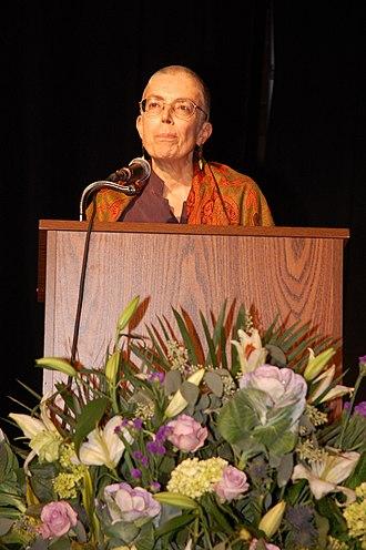 National Writers Union - Jan Clausen speaking at National Writers Union