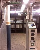 RFID trial on the IRT Lexington Avenue Line