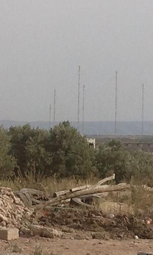 Nador transmitter - Shortwave antennas of the Nador transmitter