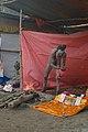 Naga Sadhu - Gangasagar Fair Transit Camp - Kolkata 2013-01-12 2498.JPG