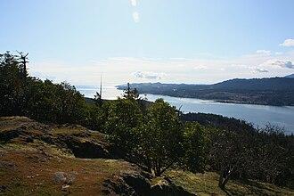Nanoose Bay - View of Nanoose Bay from Notch Hill