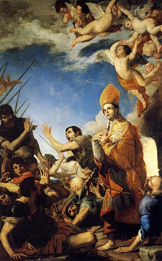 Januarius - Ribera, Saint Januarius Emerges Unscathed from the Furnace, Naples Cathedral