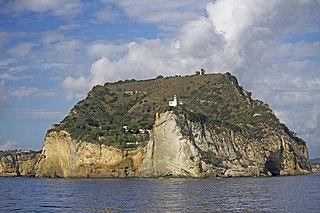 Cape Miseno cape in Campania, Italy