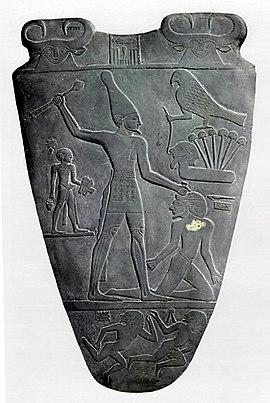 Verso van Narmer Palette