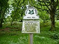National Trust signage at foot of Great Mell Fell - geograph.org.uk - 1444575.jpg
