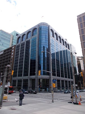 Nav Canada - Nav Canada Headquarters in the Commonwealth Building at 77 Metcalfe Street