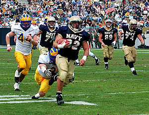 Navy football - Kyle Eckel.jpg